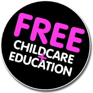 Free Childcare Badge